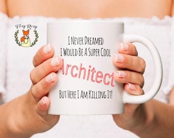 Architect Gift, Gift For Architect, Architecture, Architecture Student, Architect, Graduation Gift, Architect Coffee Mug, CM-102