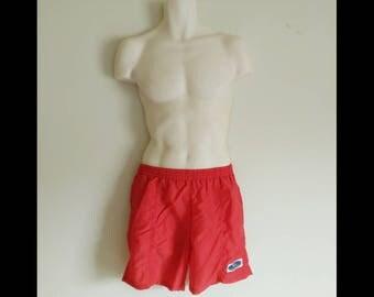 Baywatch Costume / Baywatch Bathing Suit / Baywatch Swimsuit / Board Shorts / Red Swim Trunks / Red Swim Shorts / Swim Trunks
