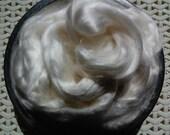 Spinning Fiber- Rose Fiber, Undyed Vegan Fiber for Spinning, Combed Top