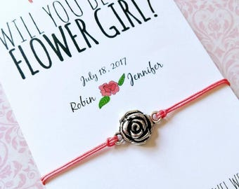 Flower Girl • Will you be our Flower Girl • Flower Girl proposal • Wedding favor • Asking gifts