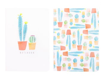 Cacti Notebook Set Orange A6