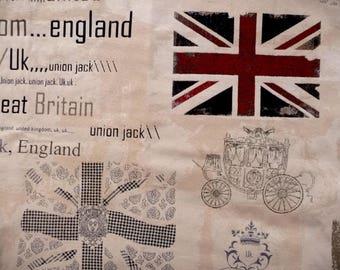 Kingdon England gray fabric
