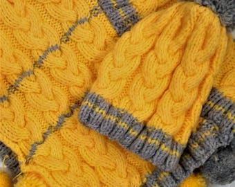 Child's poncho, Poncho woolen, hand-knitted Poncho, Poncho winter warm Poncho, wool hat, winter, warm Beanie Hat child Hat