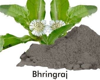 BlackBhringraj powder ,Ayurvedic Herb powder, hair pack , colour, greying control, natural remedy, Indian herb