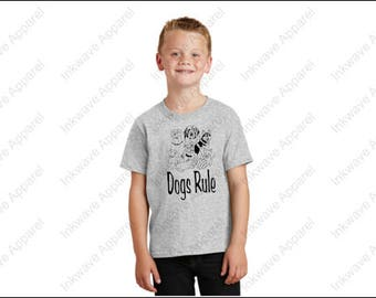 Dogs Rule Youth Size