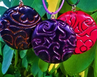 Polymer clay/ handmade necklace