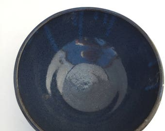 Blue Pottery Bowl