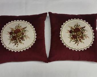 Decorative Pillows Indoor House Decor Cushion Cover Sofa 2 Pc Pillow Set