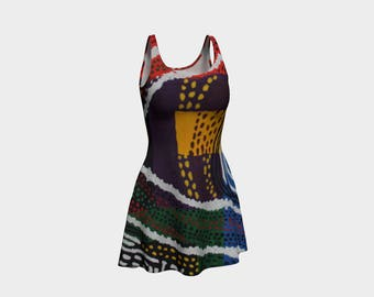 Flash Flare Dress