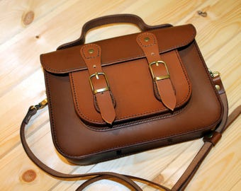 Bag briefcase genuine leather