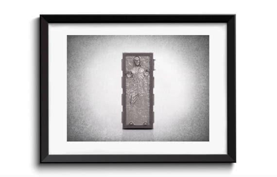 Han solo carbonite wall print star wars star wars art boys - Han solo carbonite wall art ...