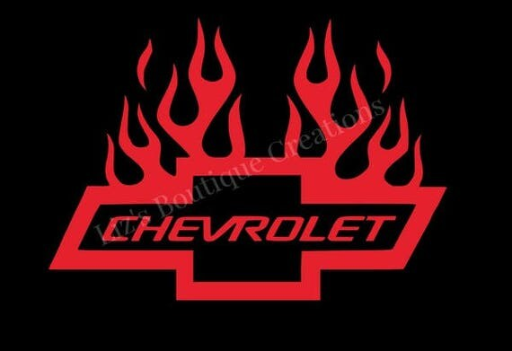 Chevy Bowtie With Flames | www.pixshark.com - Images ...