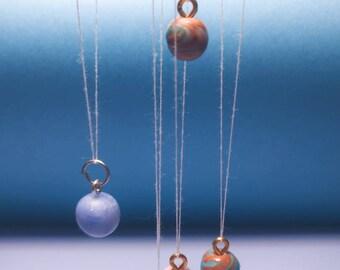 Miniature planet charms