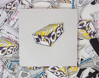 Adidas Ultra Boost Box Sticker