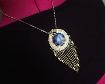 Alambre and Sodalite necklace