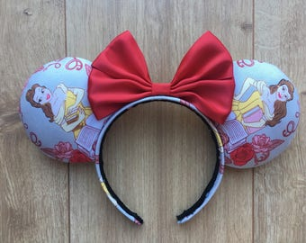 Disney Beauty and the Beast inspired ears