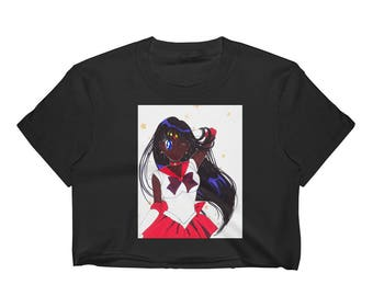 Sailor Mars Women's Crop Top