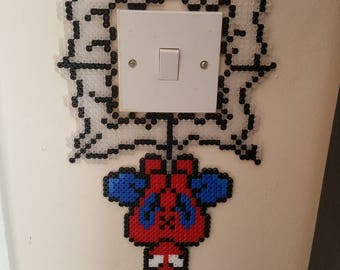 Spiderman Light Switch Hanger Beads