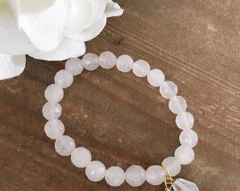 White Quartzite bracelet
