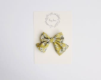 Small audrey | lime floral