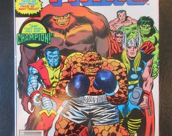 Marvel Two-In-One Annual #7 (Appearances of The Thing/Champion, Sasquatch & Colossus Also X-Men Cameo) Marvel Comics 1982