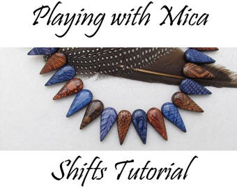 Playing with Mica Shifts Polymer Clay Tutorial