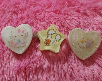 Sanrio Hairclips