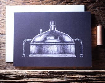 Brewery Greeting Cards - 4 pack - Blank Inside
