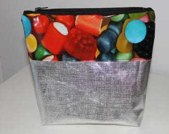 toilet bag candy and money 22x18.5 cm