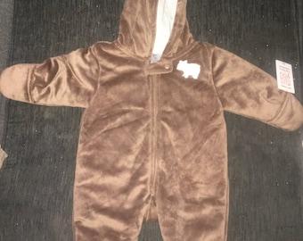 Baby fleece suit