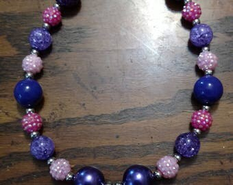 Princess crown necklace