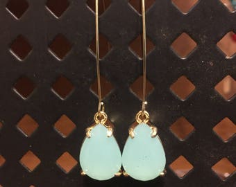 Blue sky earring