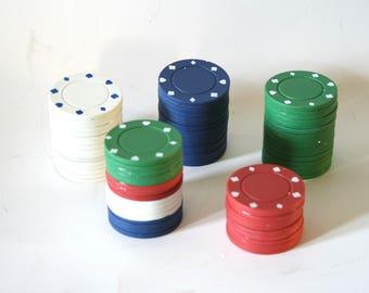 Unique, One-of-a-Kind Poker Chip Keepsake Cremation Urns