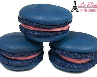 Macarons 12pc Blueberry