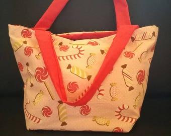 Pink Crossbody bag with handles