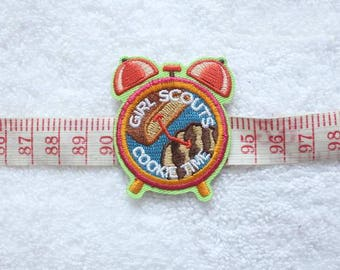 Clock Iron-On Patches