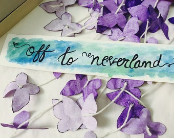 Off the neverland bookmark