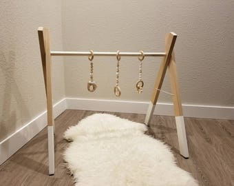 Wooden Acticity baby gym
