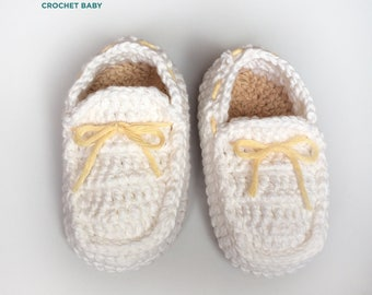 Crochet Baby Shoes for Baptism Baby Shoes, Handmade Baby Shoes for Summer.