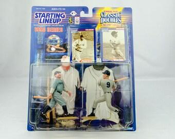 Starting Lineup Baseball 1998 Classic Doubles Roger Maris Babe Ruth NY Yankees