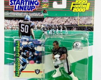Starting Lineup 1999 NFL Oakland Raiders Napoleon Kaufman Action Figure