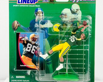 Starting Lineup 1998 NFL Antonio Freeman Action Figure Green Bay Packers