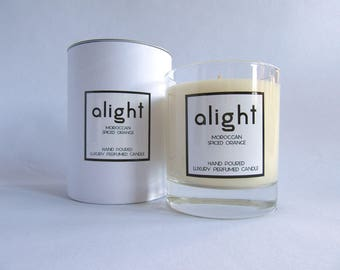 Moroccan Spiced Orange - Luxury Hand Poured Container Candle