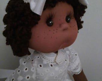 Doll cloth, fabric, handmade, unique and original