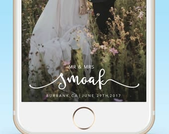 Wedding Snapchat Geofilter| Wedding Gift |Snapchat Filter|Custom Wedding Filter|Wedding Snap Chat Filter|Personalized|Gift| His and Hers