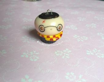 Harry Potter miniature clay cupcake charm
