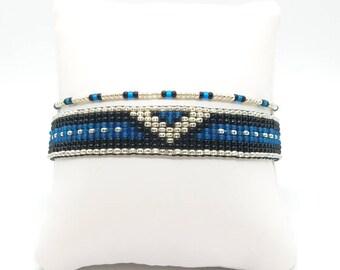 Loom Beaded Bracelet VShield