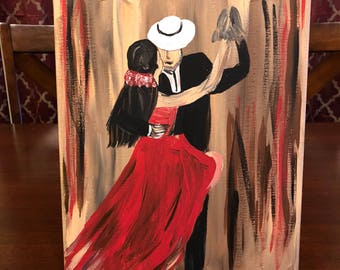 Dancing  in his arms
