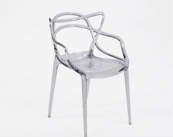 Mof Master Chair by starck clear trasnparent
