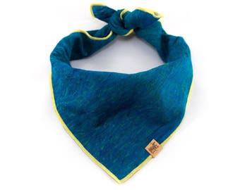 Drift // Airy Blue Cotton // Ocean Collection // Mutt Cloth Dog Bandana